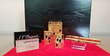 Limited Edition S.T. Dupont Afrika 5 Piece Lighter and Pen Set #7/100