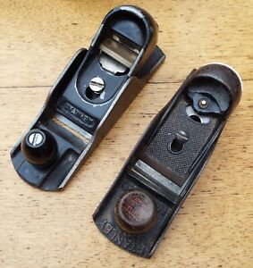 TWO SPARES OR REPAIR STANLEY HAND PLANE NO.220