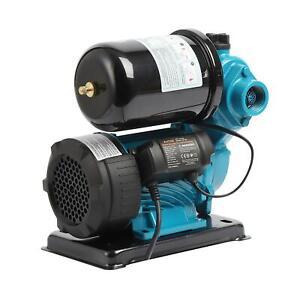 KATSU 151433 Digital Automatic Self Priming 120W Shower Water Booster Pump