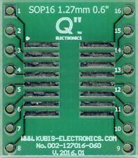 """SO16,SOP16,SOIC16 1.27mm(0.05"""") naar DIP16 0.6"""" socket. [NL]"""
