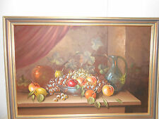 OIL PAINTING ON BOARD SIGNED.