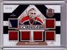 BILL RANFORD 17/18 Leaf Masked Men Goalie Gear 6X Patch Jersey  #11/15 SP Card