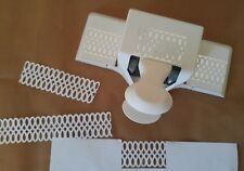 Martha Stewart Paper Cutting Punch DOUBLE LOOP DOILY LACE Loop Trim Retired