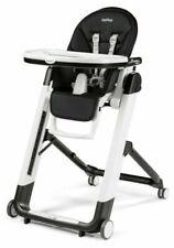 Peg Perego Siesta Follow Me Licorice High Chair - Black