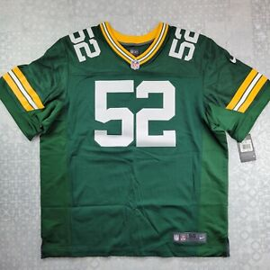 [$295] [Made In USA] Nike Green Bay Packers Elite Football Jersey Size 56