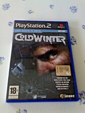 COLD WINTER (PS2 PLAYSTATION 2)) SPARATUTTO FPS - EDIZIONE ITALIANA - COME NUOVO