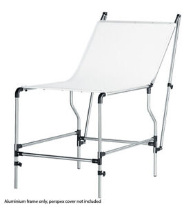 Manfrotto Mini Still Life Shooting Table Frame Without Perspex Cover (Silver)