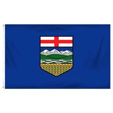 3x5 Alberta Canadian Province Flag 3'x5' Banner Brass Grommets Polyester