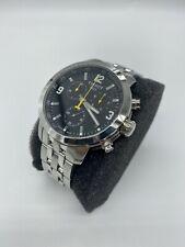 Tissot PRC 200 Chronograph Men's Watch - Stainless Steel/Black