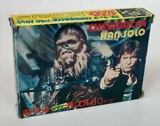Star Wars Vintage Japanese Takara Jigsaw Puzzle 1977 Han Solo & Chewbacca*