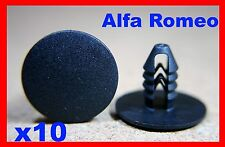 10 ALFA ROMEO porte carte carénage Panneau de garniture Revêtement Bosse Bande