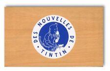 Herge boite en bois Des Nouvelles de Tintin Vilac annees 90