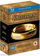 LORD OF THE RINGS EXTENDED EDITION TRILOGY BOX SET 15 DISC BLU-RAY