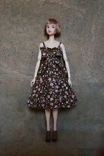 Momoko Clothes Handmade Floral Dress