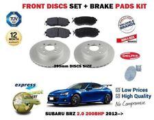 Pour Subaru Brz 2.0 200BHP 2012- > Neuf Frein avant Disques Set + Kit Plaquettes