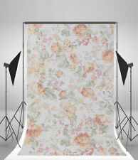 Props Floral Backdrop Photo Abstract Vinyl 5x7ft Photography Background Flower