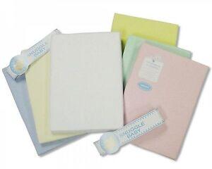 Flannelette Cot Sheet- Flat - 100x150 cm - 2 Pack - 266