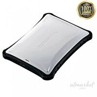 Elecom Portable HDD 1 TB USB 3.0 for TV recording Impact-resistant ELP-ZS010UWH