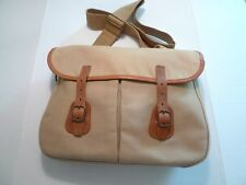 Cotton Canvas Bag With Removable Snap In Liner-Made In England