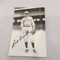 Rick Ferrell Signed Autographed Vintage George Burke Postcard Photo