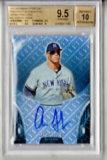 Aaron Judge 2013 Bowman Chrome Sterling Auto Refractor Japan 5/5 Red # to 5