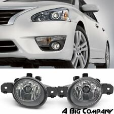 PAIR REPLACEMENT FOG LIGHT ASSEMBLY H11 FOR NISSAN ALTIMA MAXIMA SENTRA INFINITI