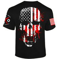 Liberty or Death T-shirt I Knives Out I Veteran I Military I Flag Skull Patriot