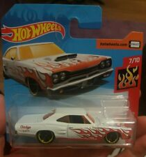 Hot wheels '69 DODGE CORONET SUPERBEE 2018 D Short card