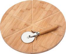 pizza Plato con pizza cortar 50462 von Kesper tabla Cortador de pizza