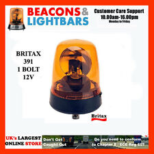 Britax 391 1 Bolt 12v Amber Rotating Beacon  PN:391.00.12