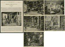 Malerei Ateliers Karl Raupp Walter Firle Eduard Unger G. Papperitz München 1889