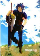 Final Fantasy VII YAOI Doujinshi '' Skying '' Cloud Zack FF7