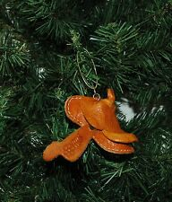 Leather Cowboy, Rodeo Saddle Christmas Ornament