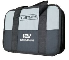 Craftsman Nextec 12 Volt Lithium Ion Bag, For Drill / Battery Charger Soft Case