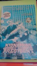 The Kidnapping of the President BIG Box (1980) VHS William Shatner Hal Holbrook