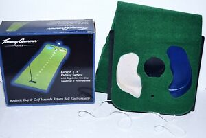 NEW Tommy Armour Club Champ PUTT'N & RETURN Golf Putting Practice Mat 8' Long