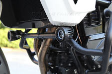 2 FARI FARETTI LED 12V MOTO KIT COMPLETO 10W 6000K + ATTACCHI PARAMOTORE  20 mm
