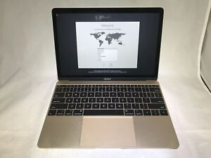 MacBook 12 Gold Early 2015 1.2 GHz Intel Core M 8GB 512GB Excellent Condition