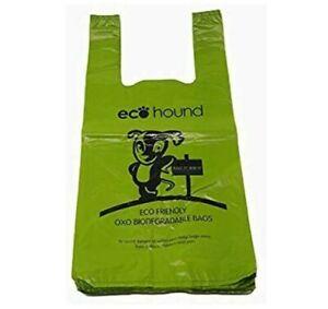 EcoHound ECO Dog Poo Bags OXO- Biodegradable LARGE Dog Waste Bags - VALUE PACKS