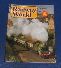 RAILWAY WORLD SEPTEMBER 1981 - THE WISBECH & UPWELL DIESEL TRAM ENGINES