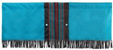 Canyon View Valance - Western/Southwest - Fringed - Turquoise -  Free Shipping