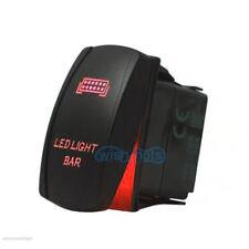 Red Laser LED LIGHT BAR Rocker Toggle Switch For UTV POLARIS RZR 4 XP 900 1000