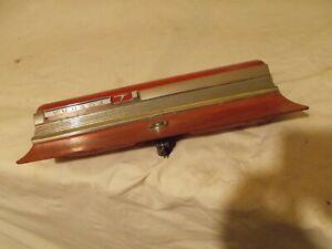 1960's Ford Falcon Futura Glovebox Door Chrome Trim Very Solid Original Vintage