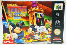 Magical Tetris Challenge-completamente en OVP Nintendo 64 n64 Boxed cib