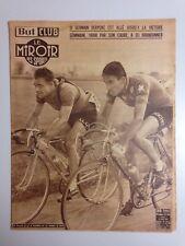 BUT ET CLUB LE MIROIR DES SPORTS 13 AVRIL 1953 DERYCKE - GEMINIANI