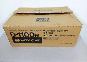 Hitachi D-1100M CASSETTE DECK