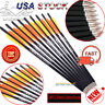 24PK 20 Inch Target Carbon Arrows Crossbow Bolts for Archery Hunting Shooting