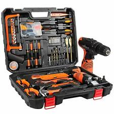LETTON Tool Kit with Drill 16.8V Cordless for 60 Accessories Home Cordless
