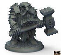 Reaper Miniatures - 44010 - Dark Dwarf Pounder