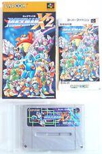 ROCKMAN X2 MEGAMAN Nintendo Super Famicom SFC SNES Japan